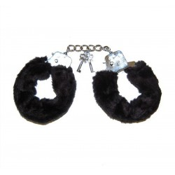 Наручники LOVE CUFFS BLACK PLUSH