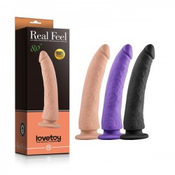 Супер реалистичный фаллоимитатор из силикона Real Feel Silicone Dildo