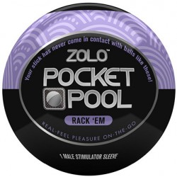Мастурбатор ZOLO POCKET POOL RACK EM