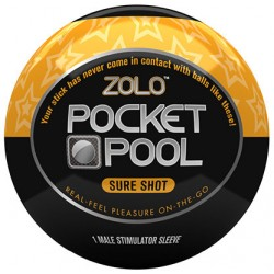 Мастурбатор ZOLO POCKET POOL SURE SHOT