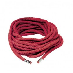 Шнур для бандажа JAPANESE SILK ROPE RED