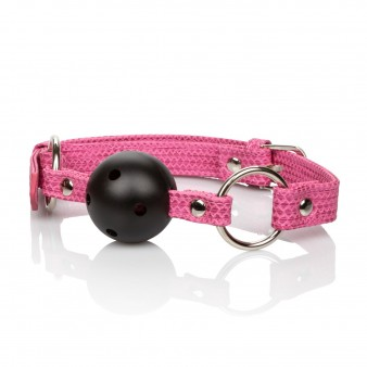 CalExotics Tickle Me Pink Ball Gag - кляп с шариком