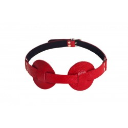 Маска SUB leather mask,red