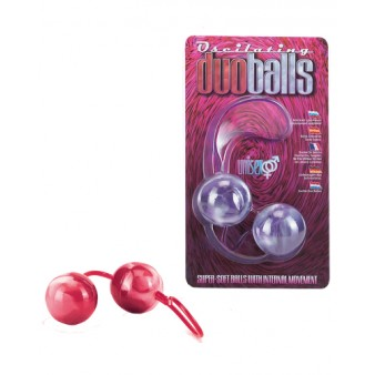 Marbilized Duo Balls - Red