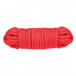 Веревка для связывания Nanma Sex Extra Love Rope, 10 м, красный