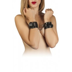 Наручники Leather Dominant Hand Cuffs, black