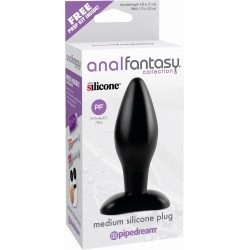 Анальная пробка Anal Fantasy Collection Medium Silicone Plug