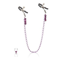 CalExotics Purple Chain Nipple Clamps зажимы для сосков