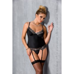 EDITH CORSET black 6XL/7XL - Passion