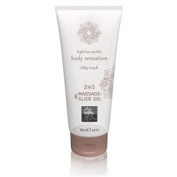 Лубрикант - Shiatsu Gel 2in1 Silky Touch, 200 мл