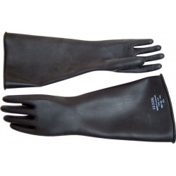 Длинные перчатки Thick Industrial Rubber Gloves от Mister B