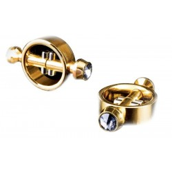 Стимуляторы на соски Fetish Fantasy Gold - MAGNETIC NIPPLE CLAMPS
