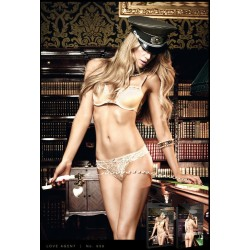 Трусики Gold Lace G-String, S/M