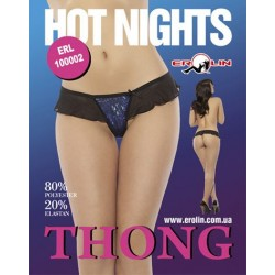 Трусики Hot Nights Blue, M