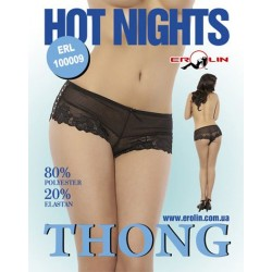 Трусики Hot Nights Black, M
