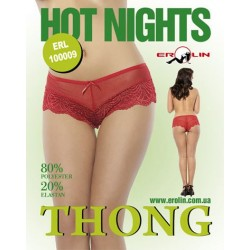 Трусики Hot Nights Red, S