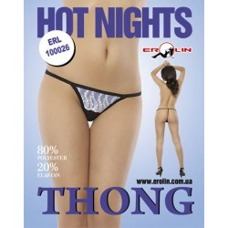Трусики Hot Nights White, L