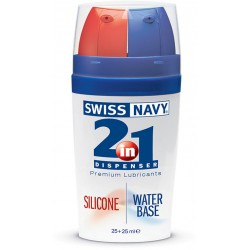 Лубрикант 2в 1 Swiss Navy 2-IN-1 Silicone/Water Based