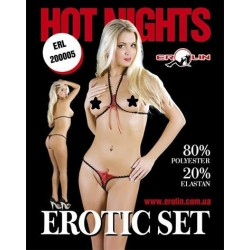 Комплект Hot Nights Red, M