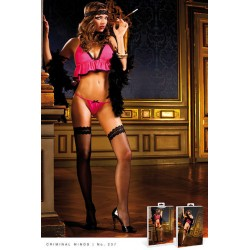 Комплект Pink-Black Babydoll Set