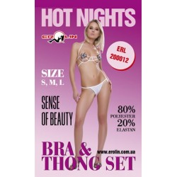 Комплект Hot Nights White, S