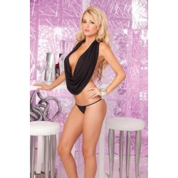 Топ Jersey Wow! Drape top set Black
