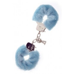Наручники Metal Handcuff with Plush blue