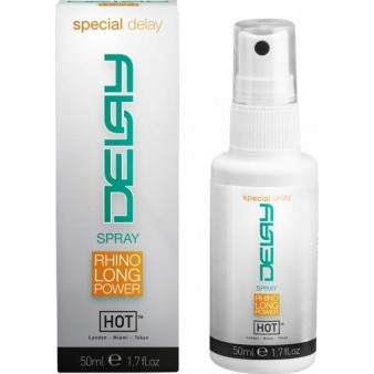 HOT DELAY SPRAY Спрей для продления удовольствия 50 мл