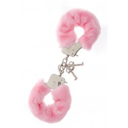 Наручники Metal Handcuff with Plush pink